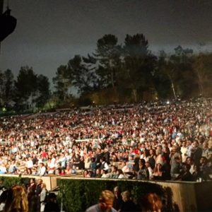 About 18,000 Seats at The Hollywood Bowl