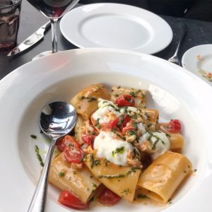 Lobster Pasta at No. 10 Restaurant