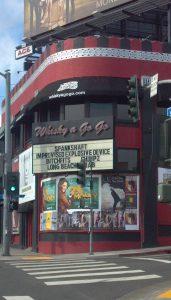 Whisky a Go Go Sunset Strip