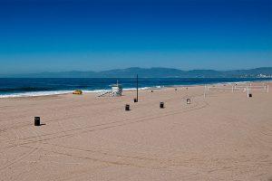 L.A. Summer Sunsets at Dockweiler Beach