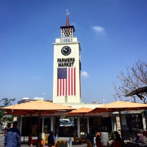 Famous Farmers Market Clock Tower