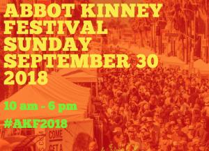 Abbot Kinney Festival in Venice 2018