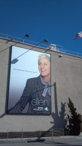 Ellen Show at Warner Bros