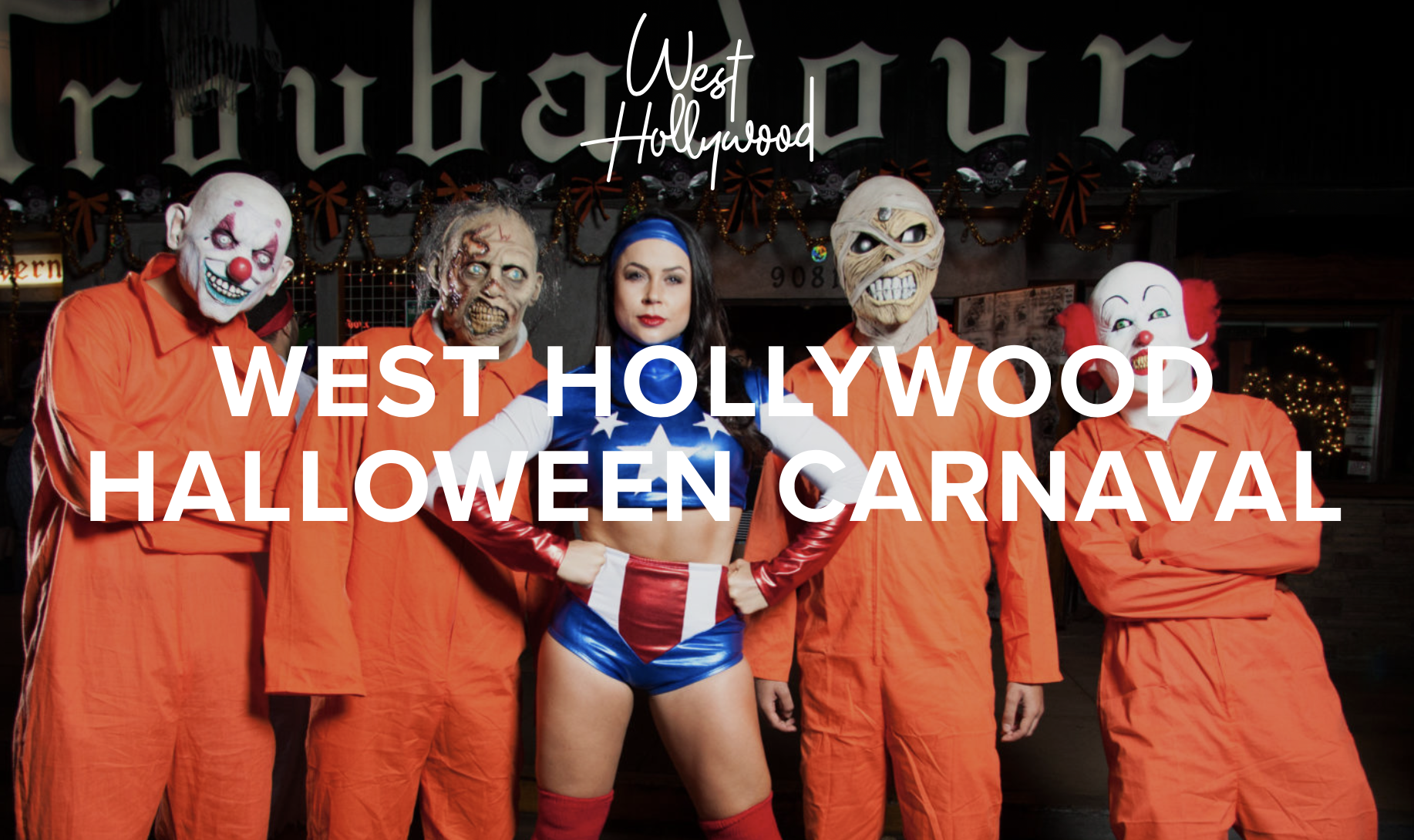 the west hollywood halloween carnaval 2018 takes place october 31st