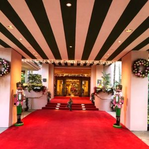Christmas at The Beverly Hills Hotel and Polo Lounge