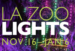 Zoo Lights in Los Angeles