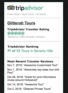 Number One Tour Company for Beverly Hills