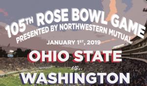 Rose Bowl Game 2019