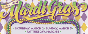 Mardi Gras at The Grove Los Angeles