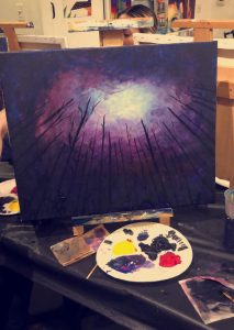 Paint and Wine Night LA