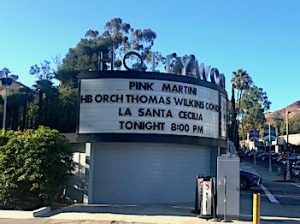 Hollywood Bowl Pink Martini