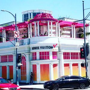 Louis Vuitton Pop Up Store Beverly Hills