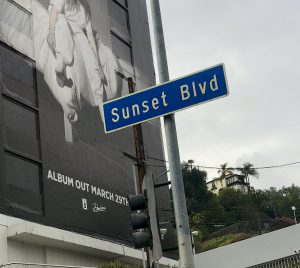 Sunset Boulevard and The Sunset Strip