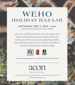 West Hollywood Holiday Bazaar